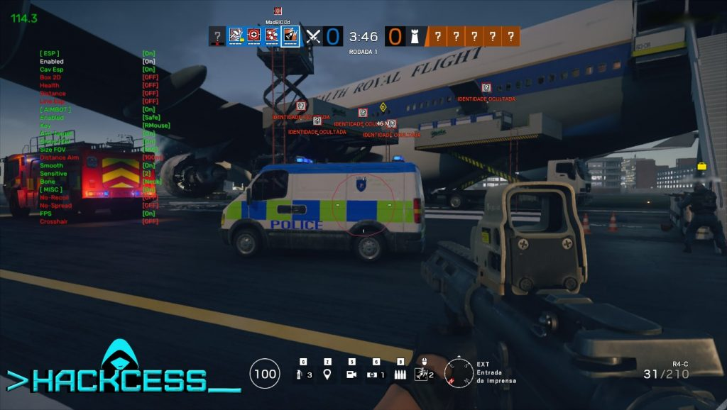 Rainbow Six Siege wallhack aimbot